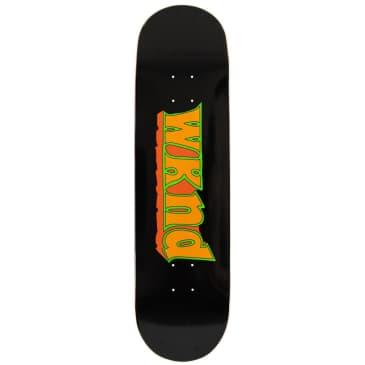 "WKND Good Times Black Skateboard Deck - 8.5"""