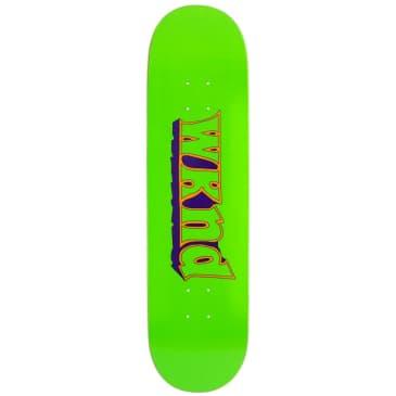 "WKND Good Times Green Skateboard Deck - 7.75"""