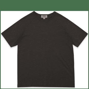 YMC Television Raglan T-Shirt - Black