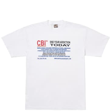 Central Bookings Intl. Treatment T-Shirt - White