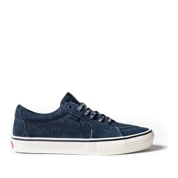 Vans Skate Sk8-Low Shoes (Civilist) - Navy / Snow