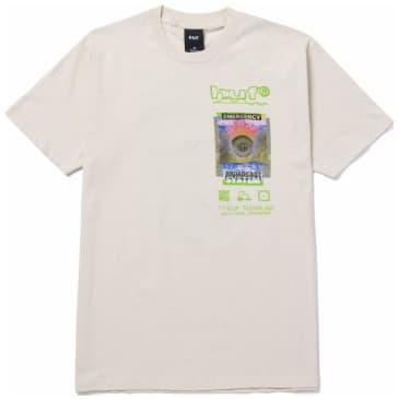 HUF Emergency System T-Shirt - Natural
