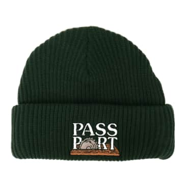 Pass~Port Circle Saw Beanie - Forest Green