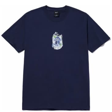 HUF Crushed Can T-Shirt - Navy