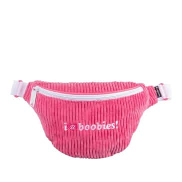 The BumBag Co x Keep a Breast Basic Hip Pack - Pink