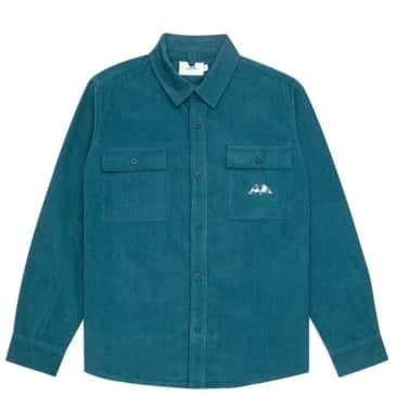 Parlez Club Cord Shirt - Teal