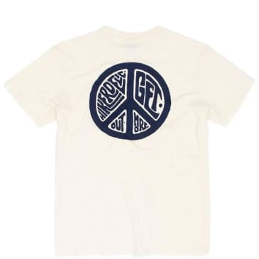 Hikerdelic Peace T-Shirt - Off White