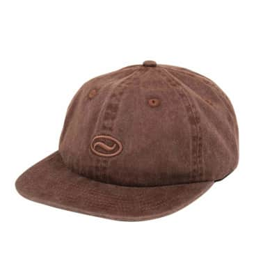 Pass~Port Ovaly 6-Panel Cap - Brown