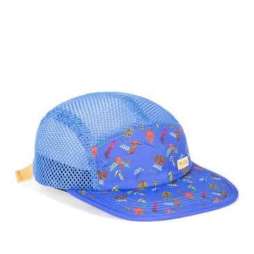 Topo Designs Global Hat - Forest Blue
