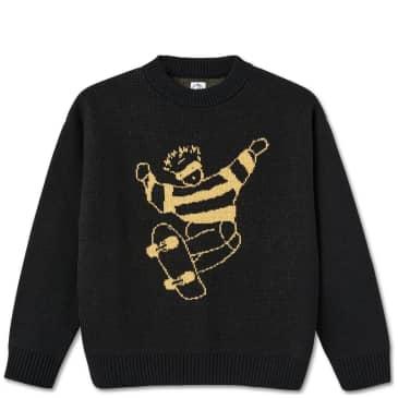 Polar Skate Co Skate Dude Knit Sweater - Black