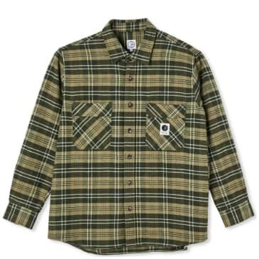 Polar Skate Co Flannel Shirt - Uniform Green