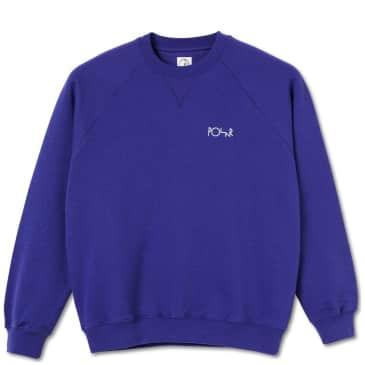 Polar Skate Co Default Crewneck - Purple