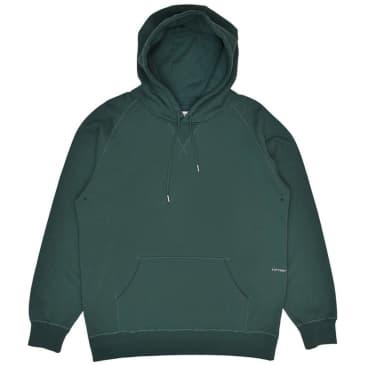 Pop Trading Company Logo Hooded Sweat - Bistro Green