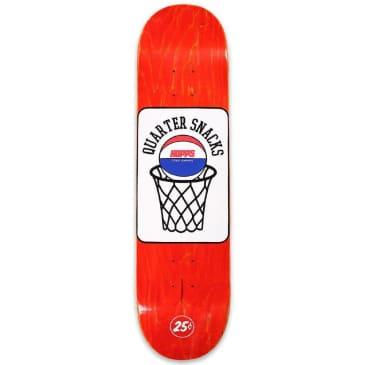 "Hopps x Quartersnacks Street Composite Skateboard Deck - 8"""
