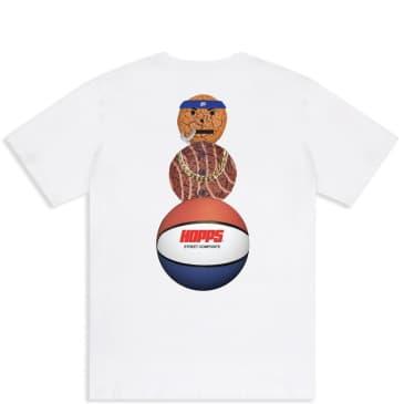 Hopps x Quartersnacks Snackman T-Shirt - White