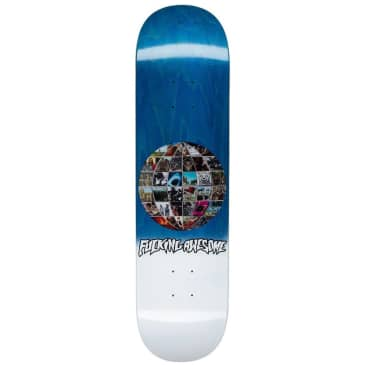 """Fucking Awesome Univision Skateboard Deck - 8"""""""