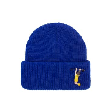 Fucking Awesome Hanging Girl Cuff Beanie - Royal