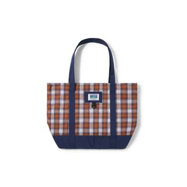 """BUTTER GOODS-""""PATCHWORK PLAID TOTE"""""""