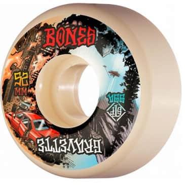 Bones Skateboard Wheels Gravette Heaven & Hell V2 Street Tech Formula STF 99a 52mm