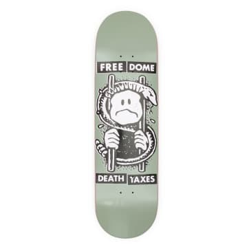 """Free Death and Taxes Deck - 8.875"""""""