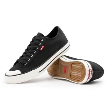 Levis Hernandez Canvas Shoes - Regular Black