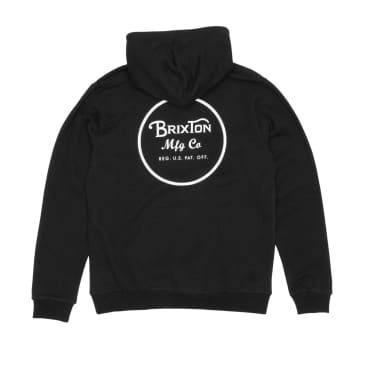 Brixton WheelerHooded Sweatshirt - Black