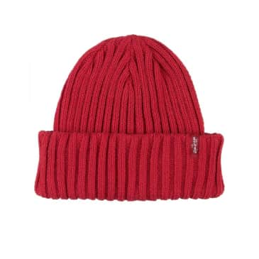 Levis Ribbed Beanie - Brilliant Red