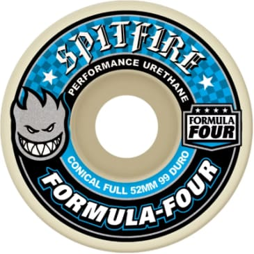 Spitfire Wheels Formula Four 52mm Conical Full 99a
