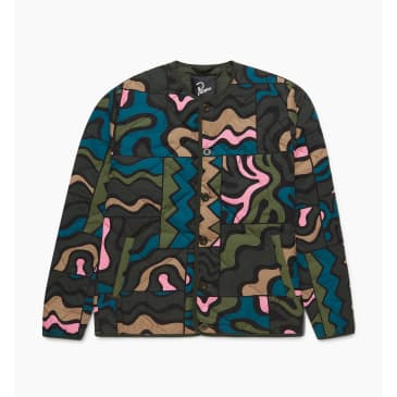 by Parra - gem stone pattern quilted jacket