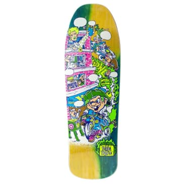 """New Deal Howell Tricycle Kid Neon HT Deck Multi 9.625"""""""