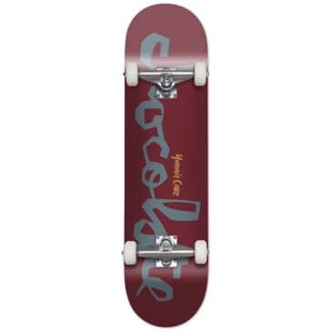 "Chocolate Skateboards Original Chunk W41 Yonnie Cruz Complete Skateboard 7.875"""