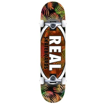 """Real Team Tropic Ovals 2 Complete Skateboard 7.75"""""""