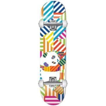 Enjoi Panda Stripes First Push 7.75 Skateboard Complete
