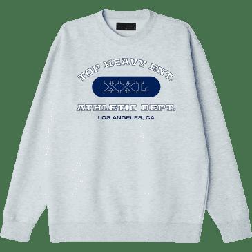 Top Heavy College Sweatshirt - Grey