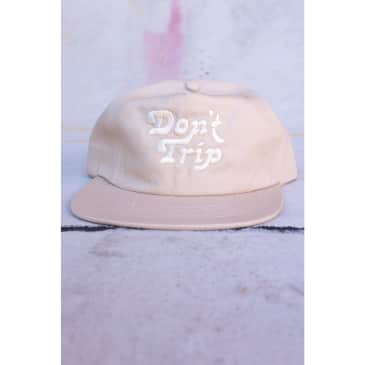 5 Panel Unstructured Hat - Stone