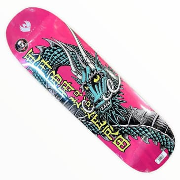 Powell Peralta Flight Deck Caballero Ban This Pink 9.26x32 Shaped