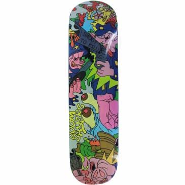 "Doomsayers Lil Kool Team Skateboard Deck   Multi   8.25"""