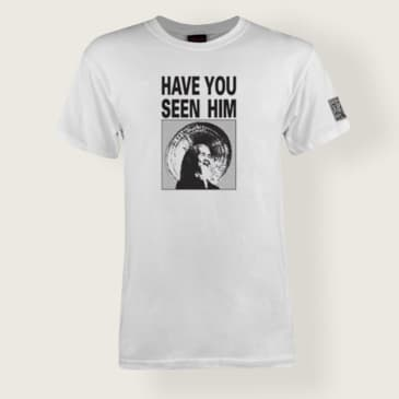 Powell Peralta Have You Seen Him T-Shirt White