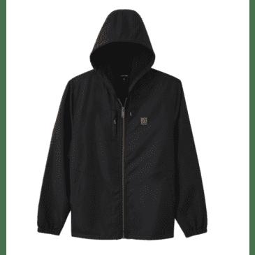 Claxton Beta Zip Hood Jacket   Black