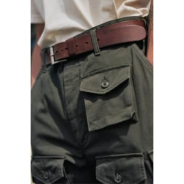 FA Pant Olive Heavyweight Cotton Ripstop