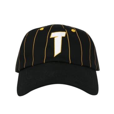 T Logo Old Timer Hat - Black/Yellow