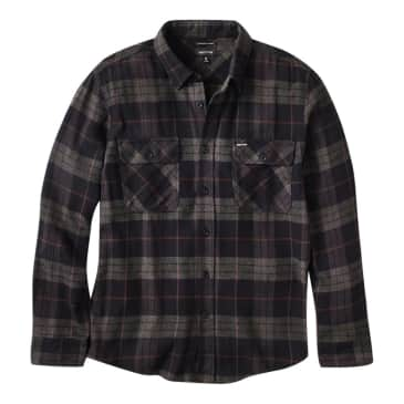 Bowery Flannel - Black/Charcoal
