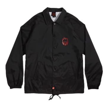 Spitfire Coach Jacket Swirl Black/Red
