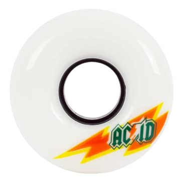 Acid Skaterade Wheels 54mm 86a White