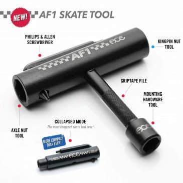 Ace | AF-1 Collapsible Skate Tool With Rethreaders