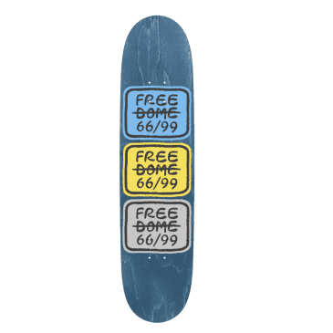 """Free Dome Stacked Logo Deck 8"""""""