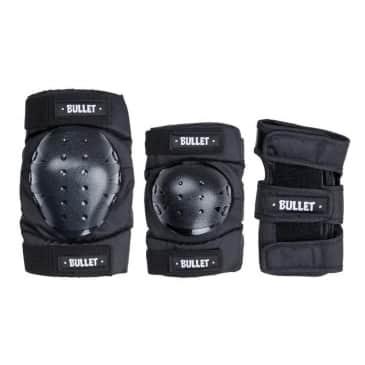 Bullet Triple Padset Standard Combo Adult Black