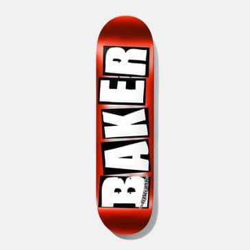"""Baker Brand Logo Red Foil Deck 8.5"""""""
