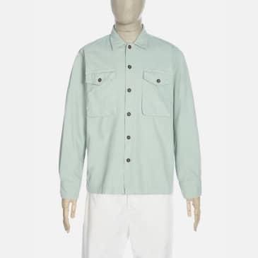 Universal Works Treck Shirt - Cool Green