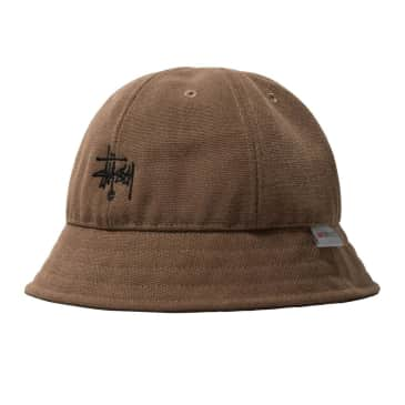 Stussy : Thinsulate Canvas Bell Hat - Brown